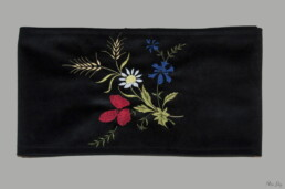Ceinture Coquelicot, accessoire homme, ceinture savoyarde, costume de Savoie