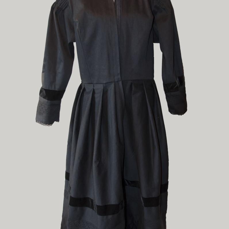 Robe traditionnelle, costume savoyard,