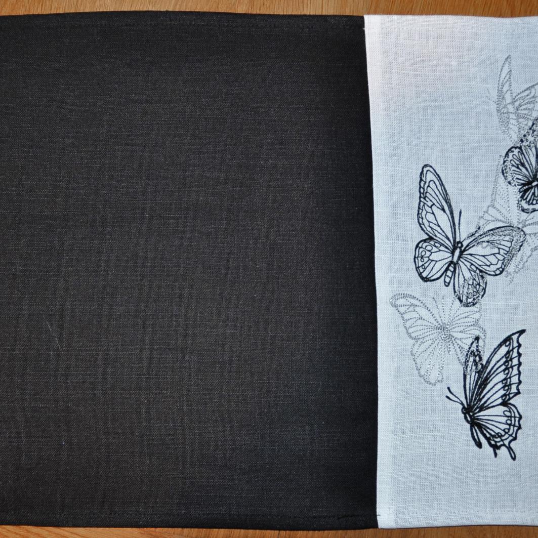 Set de table papillons, art de la table, linge de table, décoration intérieur