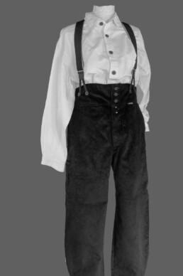Pantalon velours traditionnelle savoyard