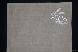 set de table blé, art de la table, linge de table, décoration intérieur