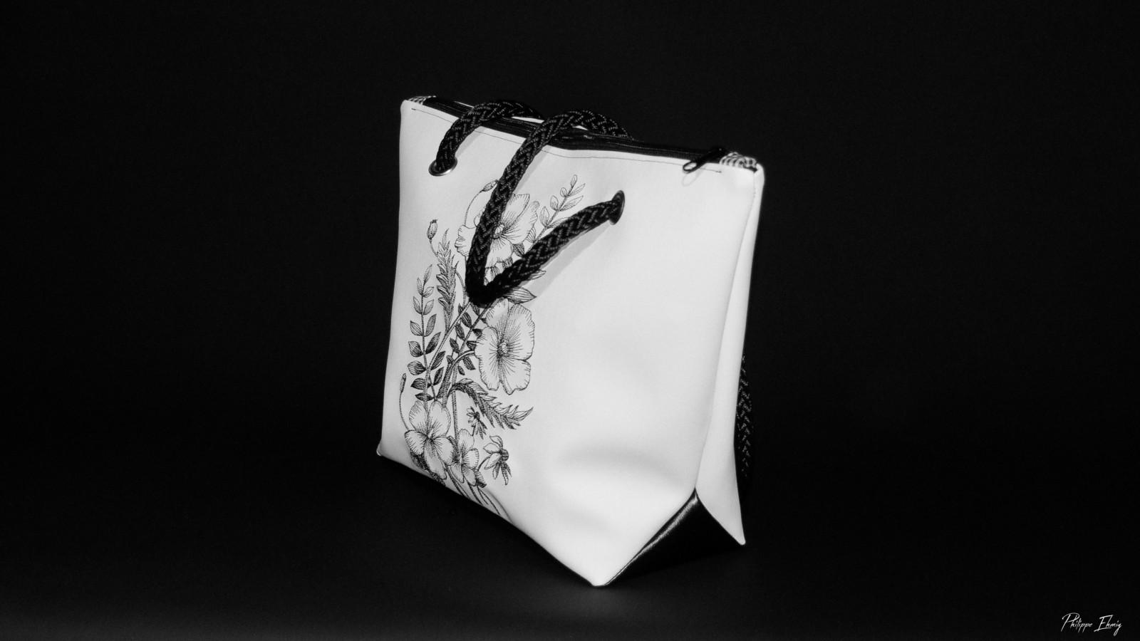 sac à main pavot2, mode femme, accessoire de mode, fabrication artisanale