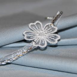 bracelet Fleur, accessoire de mode femme, mariage et soirée