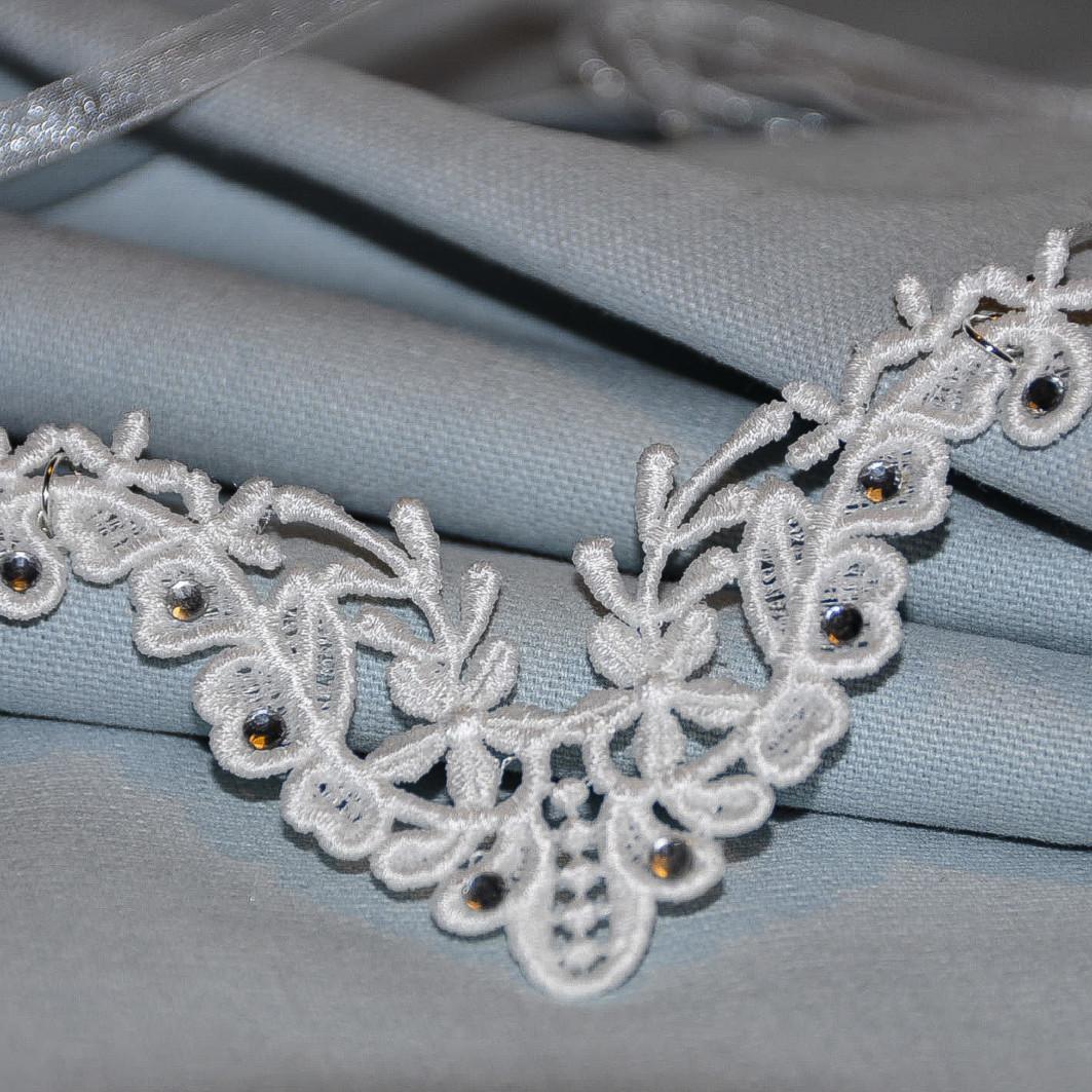 collier strass, accessoire mode femme pour mariage et soirée