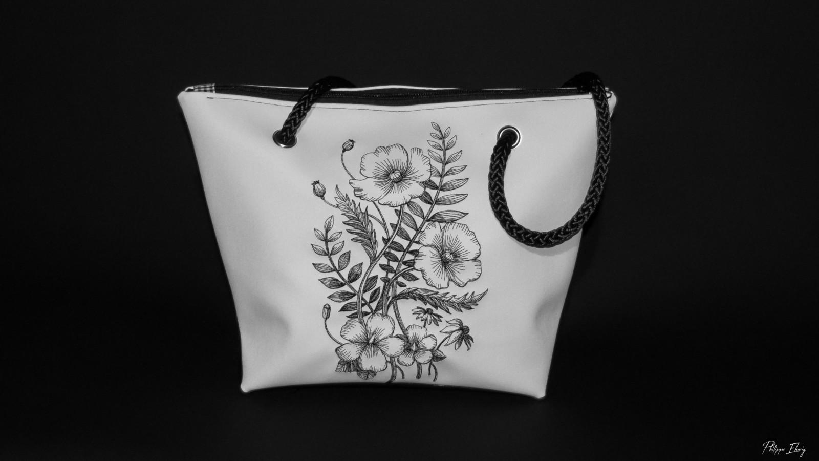 sac à main pavot, élégant, souple, fabrication artisanale