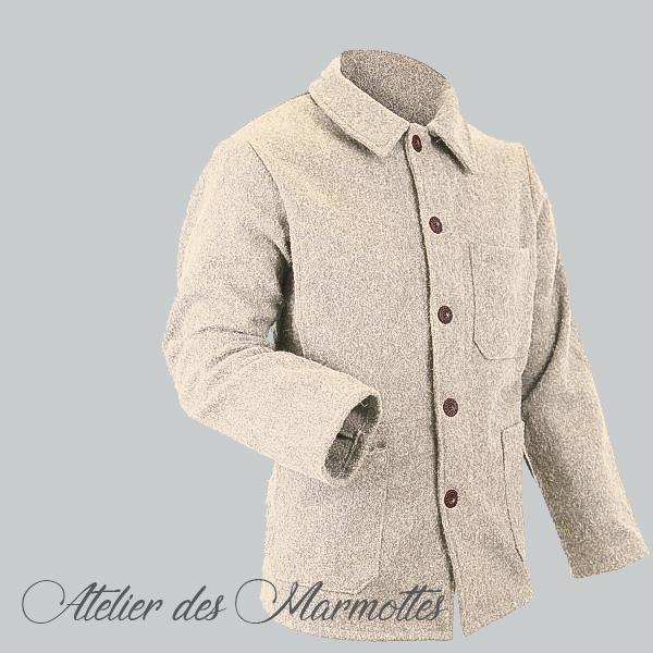 veste en laine authentique Savoie