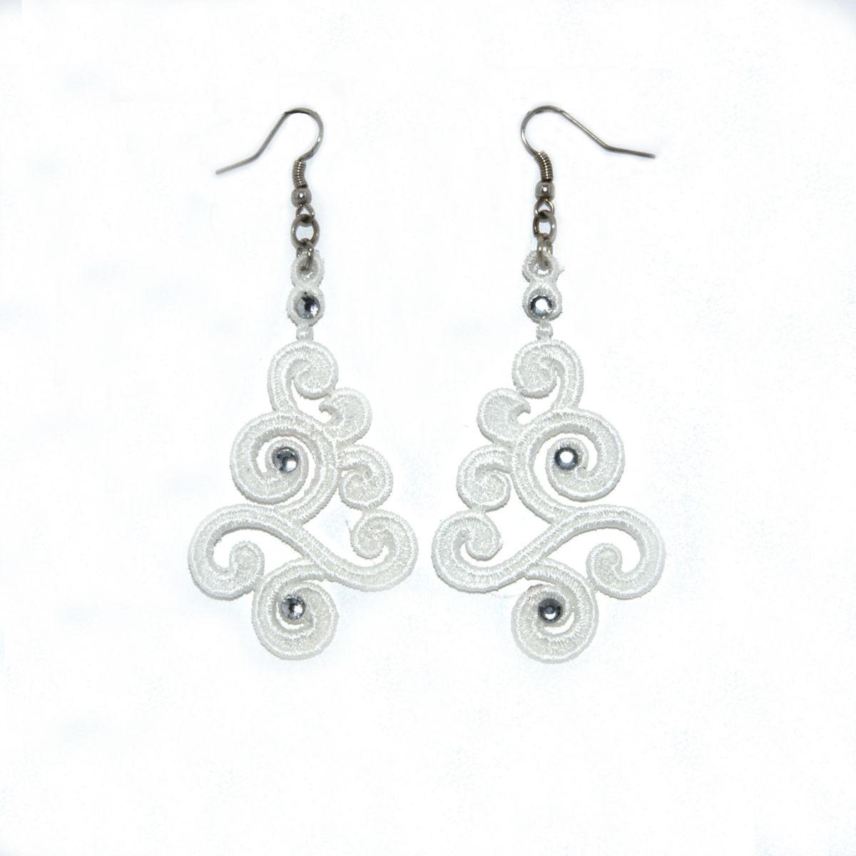 """Boucles d'oreilles """"Celtique"""", bijoux fantaisie, accessoire mode"""