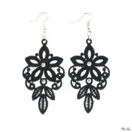 boucles d'oreilles baroque, bijoux fantaisie